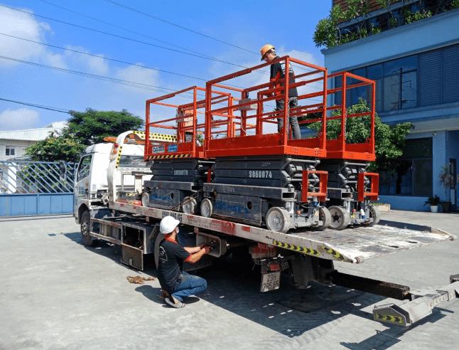 5. Chính sách vận chuyển khi đặt xe nâng người tại CIG