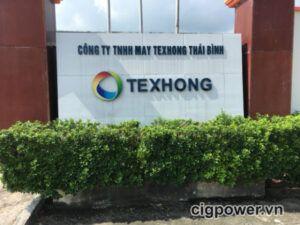 Bảo dưỡng máy phát điện công ty Texhong