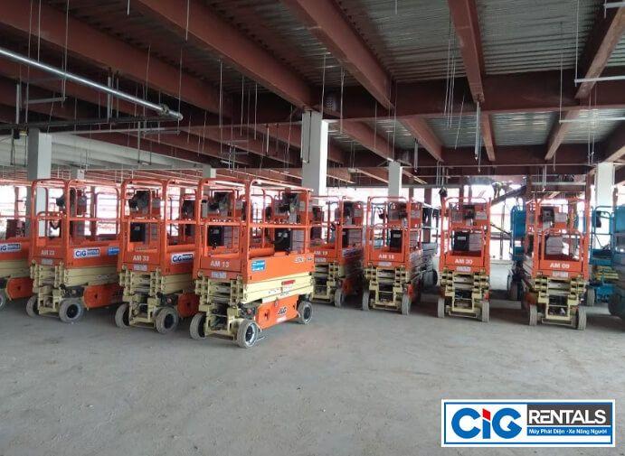 Dịch vụ cho thuê Xe nâng người tại Bắc Ninh – An toàn, chất lượng, uy tín!