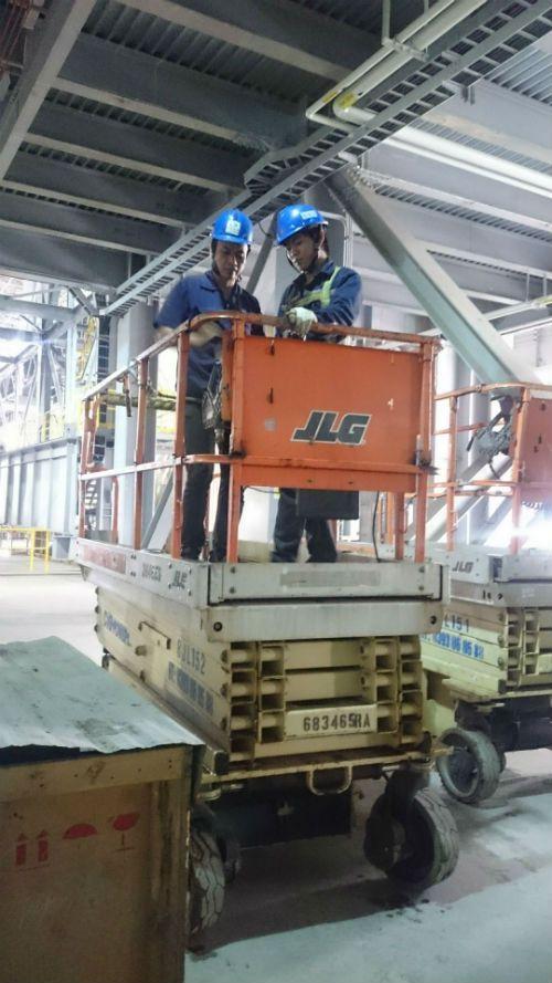 CiG Power cung cấp xe nâng người dạng cắt kéo