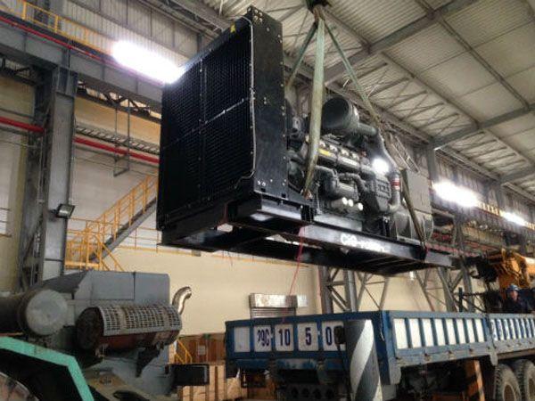 Dự án lắp ráp máy phát điện công nghiệp cho Fomosa Hà Tĩnh
