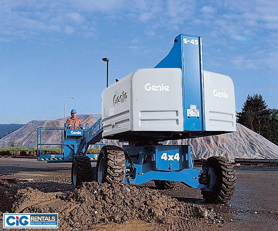 Xe nâng người tự hành Genie S45