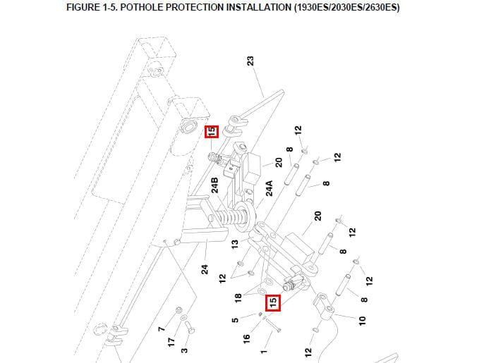 Linh kiện xe nâng JLG LIMIT& SWITCH – Part No. 1001109345