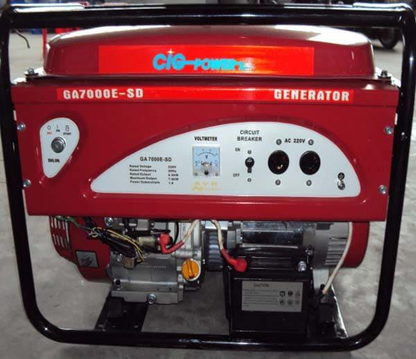 Máy Phát Điện GA7000E-SD