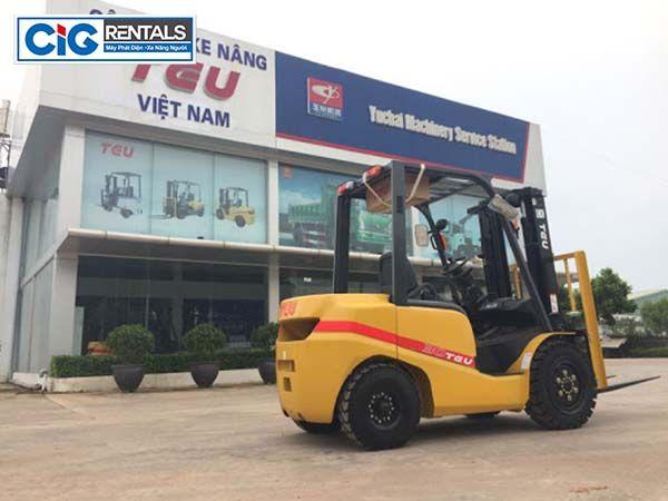 Công ty xe nâng người TEU Việt Nam
