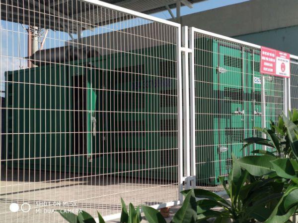 Tổ máy phát điện CiG, động cơ Cummins tại Makalot Hải Dương, Việt Nam