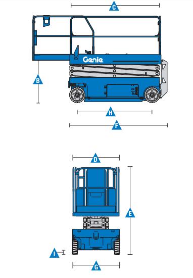 Thông số kỹ thuật xe Genie GS 3246