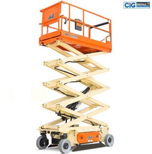 Báo giá thuê thang nâng người dạng cắt kéo CIG Power