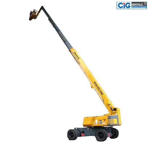 Báo giá xe nâng người dạng cần thẳng CIG Power