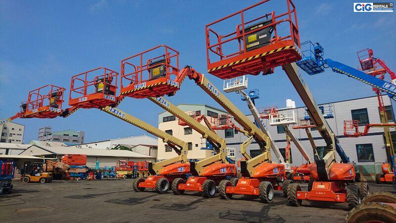 CIG Power có sẵn xe thang nâng người 28m đa dạng kiểu dáng
