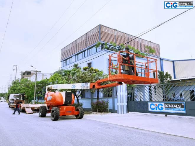 Đơn vị cung cấp xe thang nâng người giá rẻ CIG Power