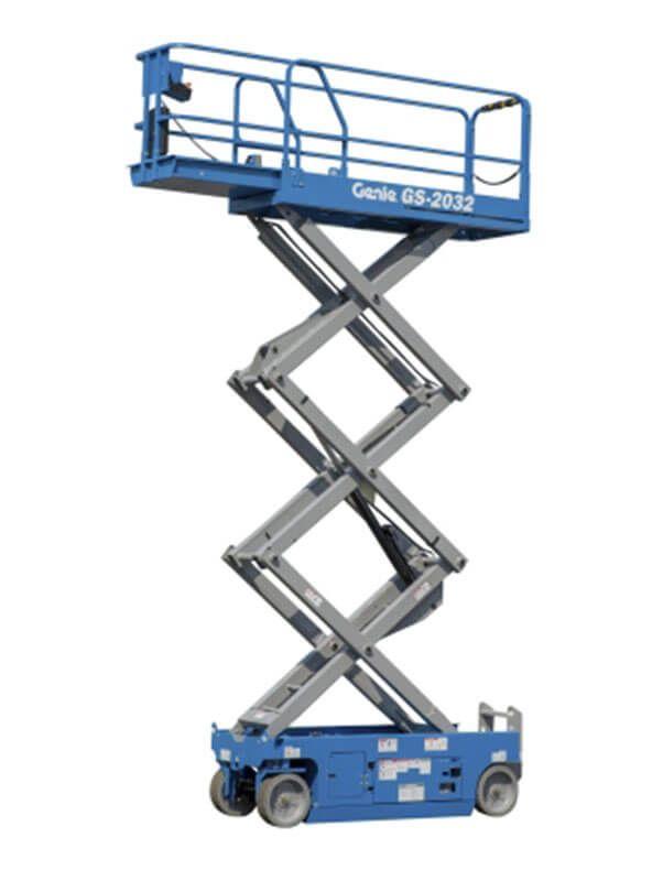 Giá xe thang nâng dạng cắt kéo Genie