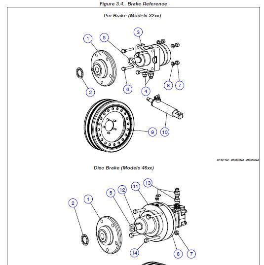 Linh kiện xe nâng Skyjack Motor, hydraulic wheel drive – Kit, Seal – Part No. 104212