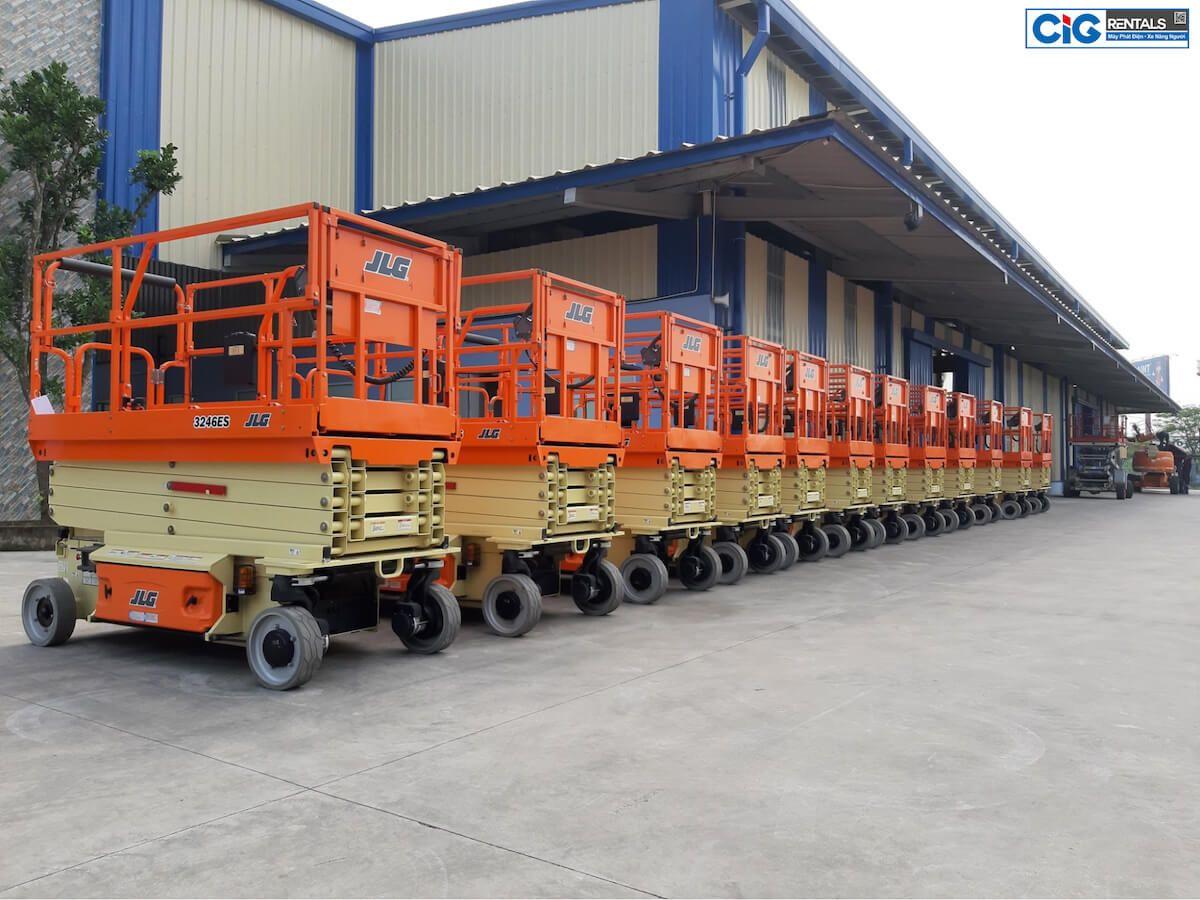 Lô xe nâng người JLG nhập khẩu chính hãng