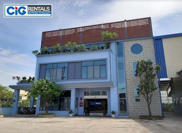 CIG - Cho thuê xe nâng người tại Thanh Hóa