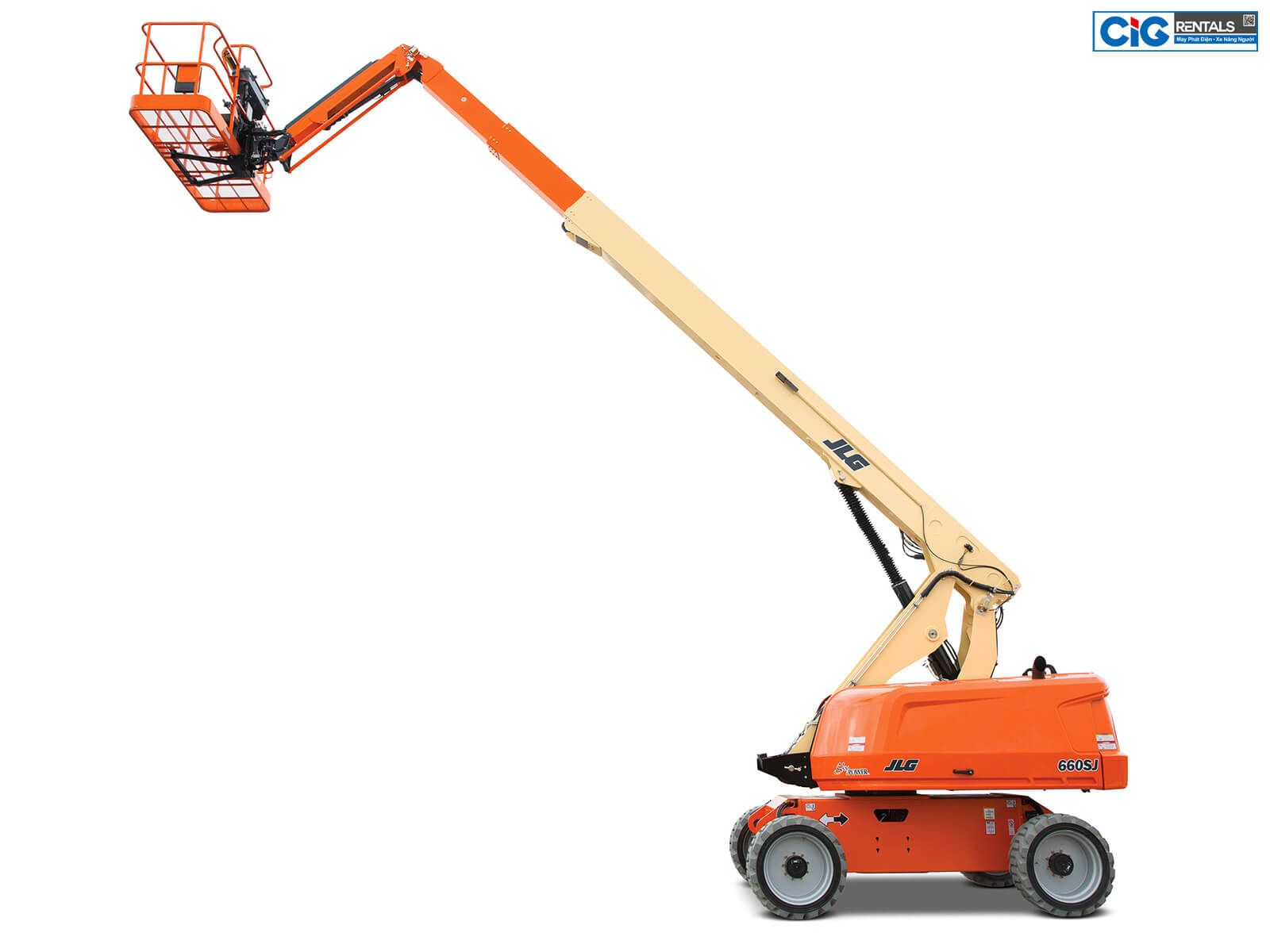 Xe nâng người trên cao 22m JLG 660SJ