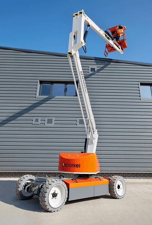 Xe nâng người tự hành 12m Snorkel A38E