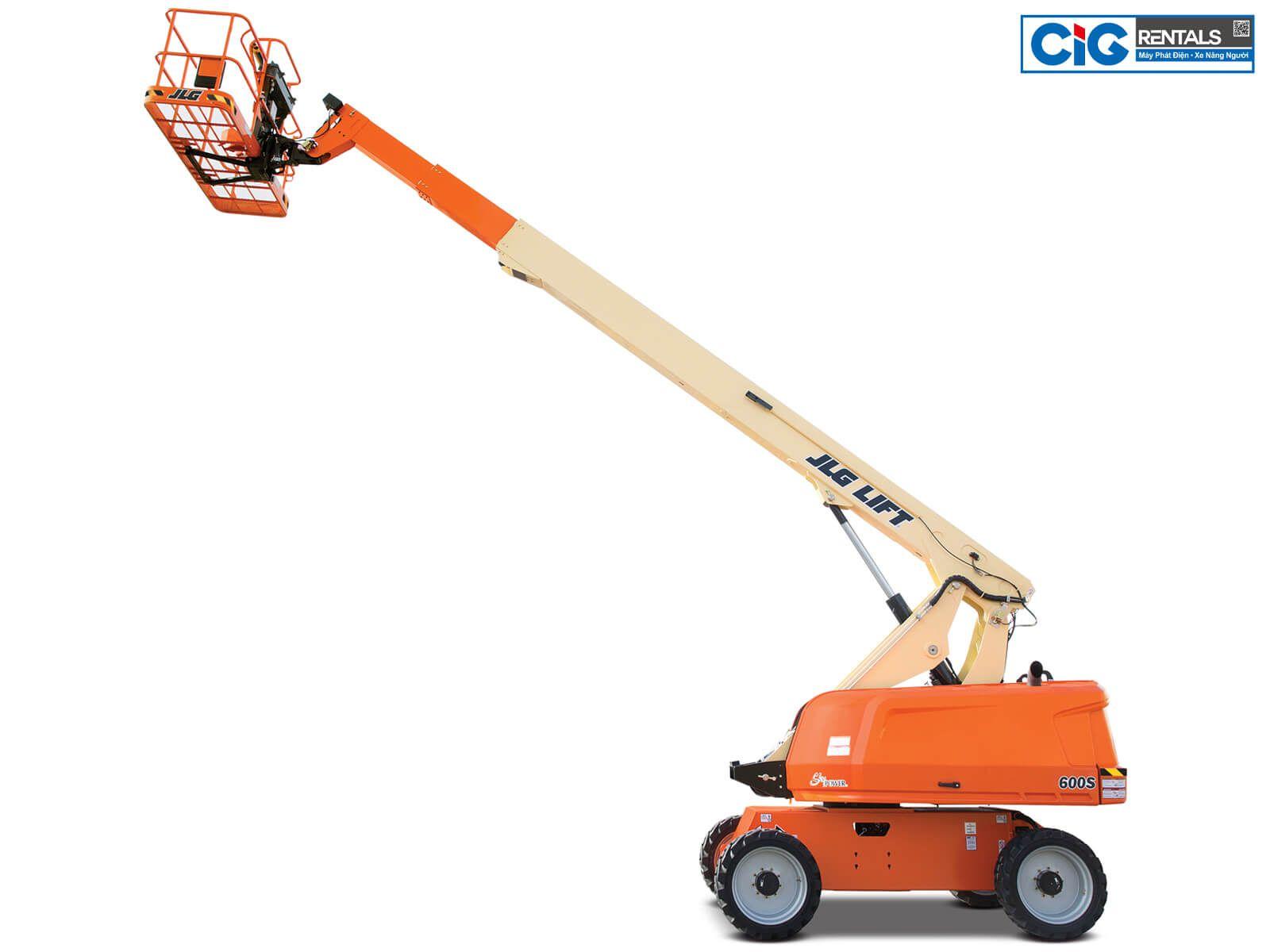 Thang nâng người 20m JLG 600S